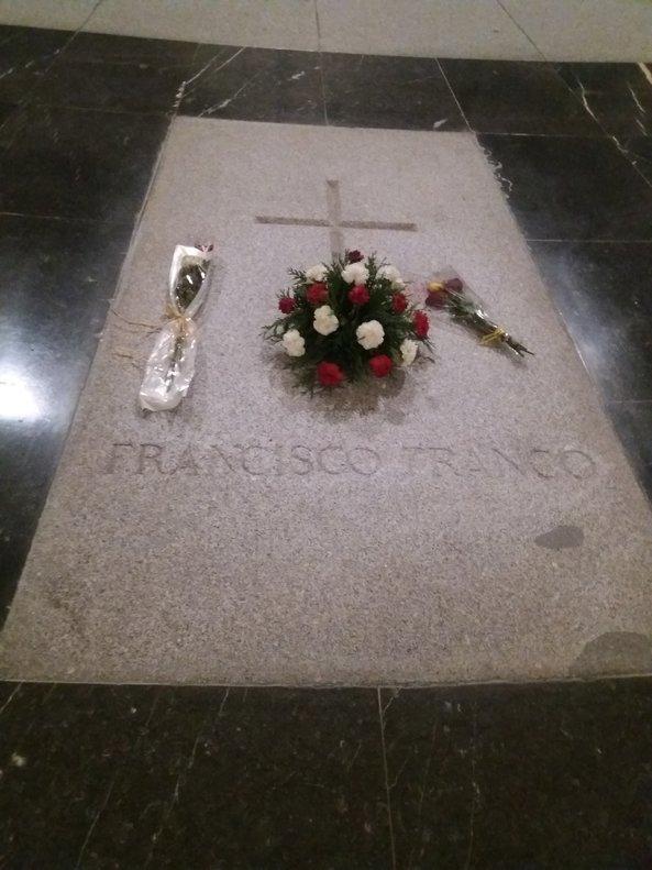 13/12/2018 Tumba de Franco en el Valle de los Caídos.