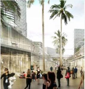Una imagen del proyecto del complejo BCN World.
