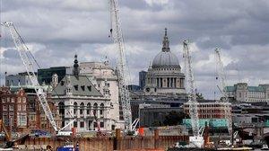 Una imagen de Saint Paul's Cathedral, en Londres.