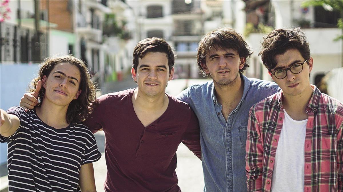 El grupo colombiano Morat.