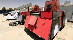 Estil Mad Max: així modificava els cotxes l'Estat Islàmic per convertir-los en armes de guerra