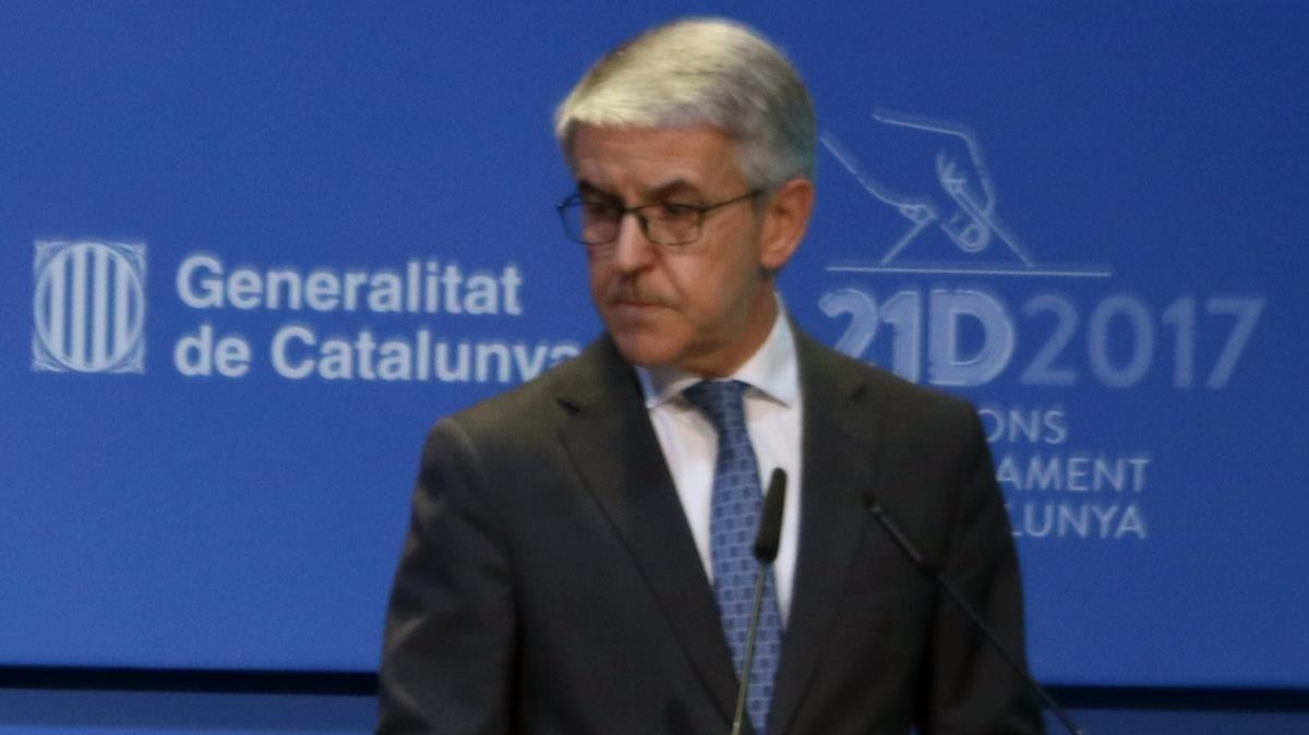 El supervisor dels Mossos amb el 155 torna a Madrid