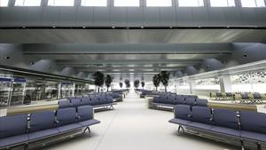 Instalaciones de la terminal E.