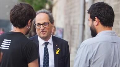 Torra se refugia en un guion surrealista para Tarragona