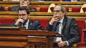 Parlament de Catalunya: La primera sessió de control al Govern de Quim Torra, en directe