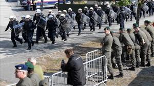 Àustria realitza un simulacre de crisi per alta afluència d'immigrants a la seva frontera