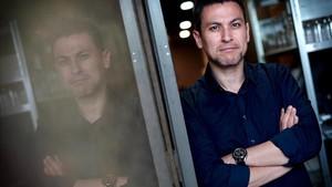 El director Rodrigo Cortés, este miércoles en Madrid.