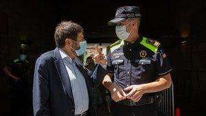 Barcelona amplia la plantilla de la Guàrdia Urbana amb 199 nous agents