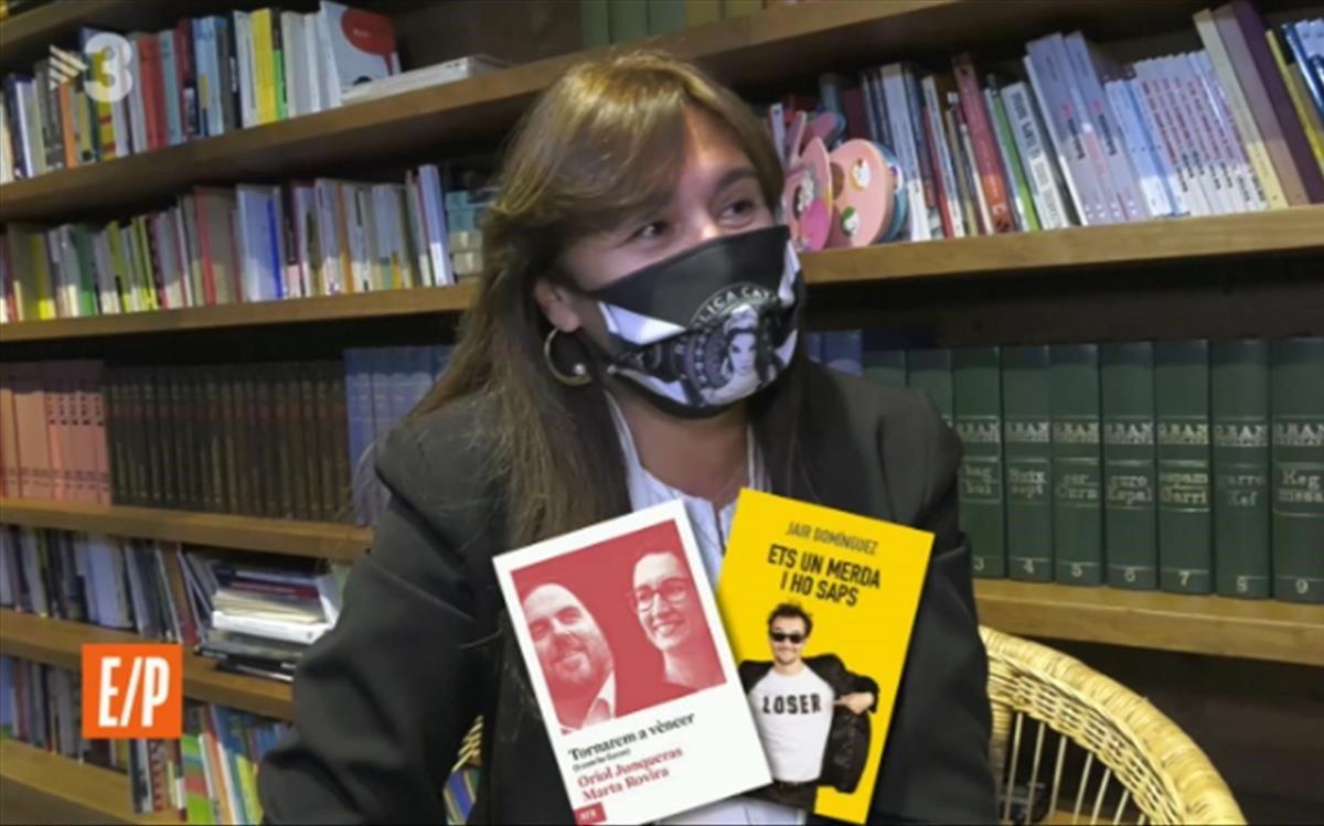 Laura Borràs, literatura d'atac