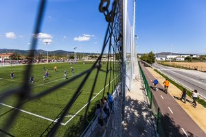 La zona deportiva de Can Torelló, en Gavà, en una imagen de archivo