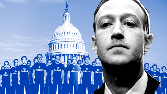 Zuckerberg ante el Senado: Colisión entre la política e internet.