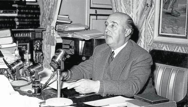 Francisco Franco, <BR/>al Pardo.
