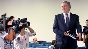 Rueda de prensa posteror a la reunion del Consejo de Ministros, a cargo de Iñigo Mendez de Vigo