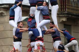 Los Capgrossos de Mataró, durante su mejor actuación.
