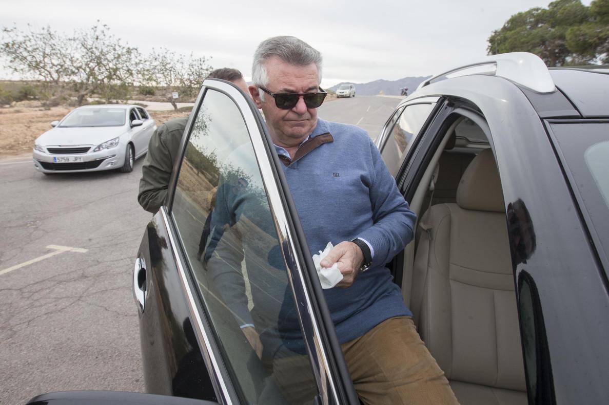Juan Antonio Roca, en noviembre del 2016, en su primer permiso penitenciario.