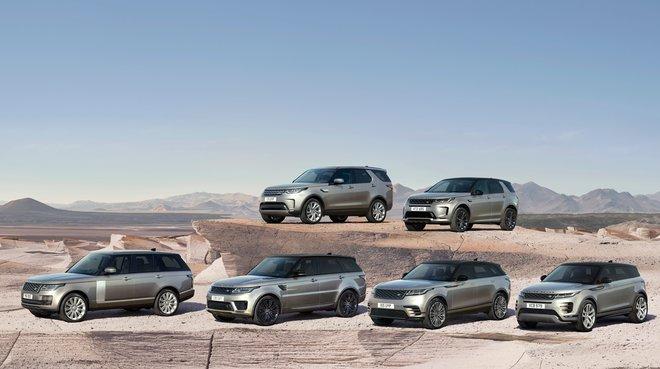 Gama Land Rover