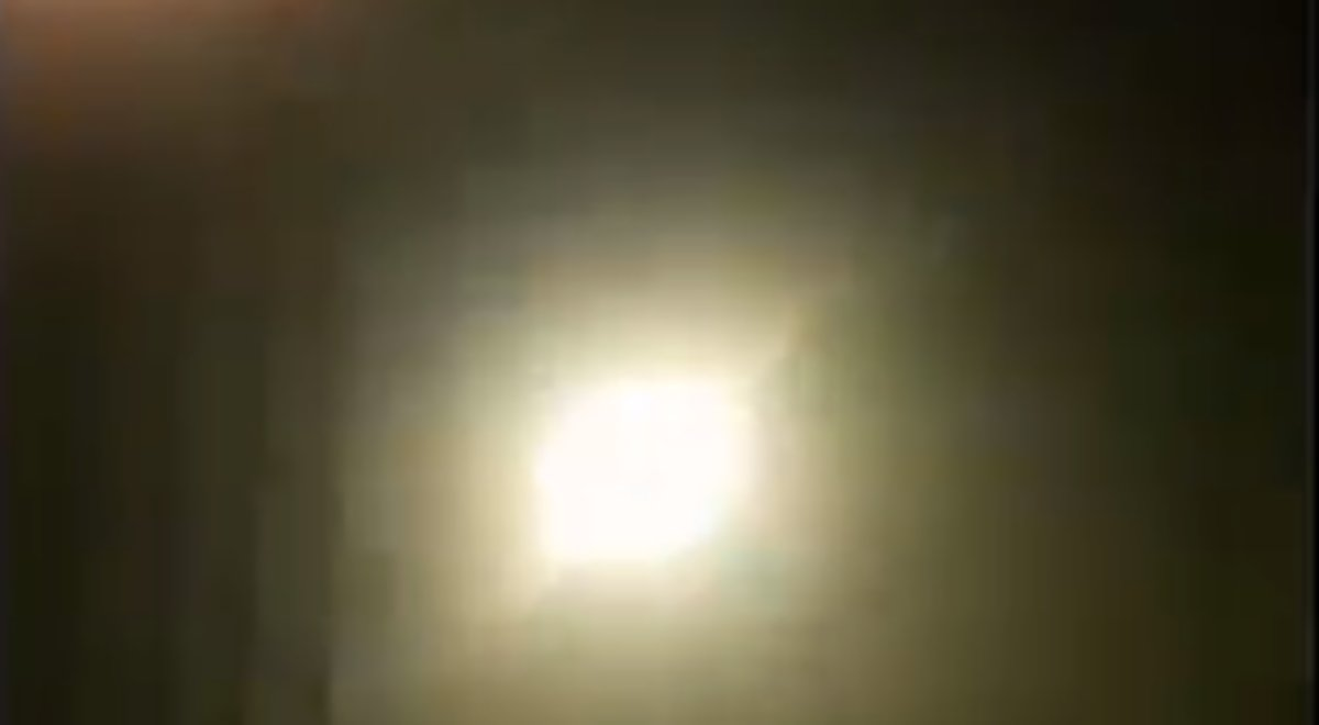 Un vídeo mostra el suposat impacte d'un míssil contra l'avió ucraïnès