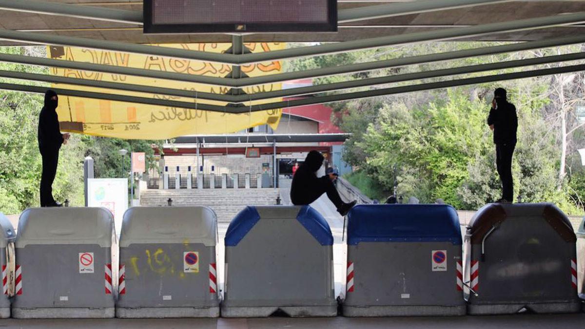 Estudiants de la UAB tornen a bloquejar el Campus de Bellaterra