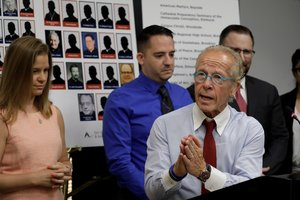 El abogadoJeff Anderson quien representa a varias víctimas de abuso sexual en Nueva York. EFE