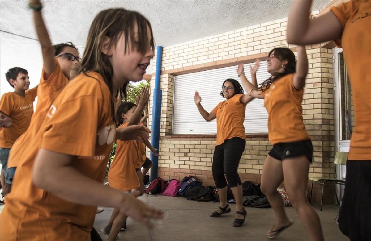 Actividades de ocio para menores, el pasado julio.