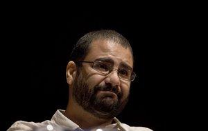 El activista egipcio Alaa Abdel-Fattah.