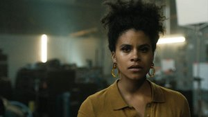 La actriz Zazie Beetz protagoniza el episodio 'Blurryman' de la serie 'The Twilight Zone'.