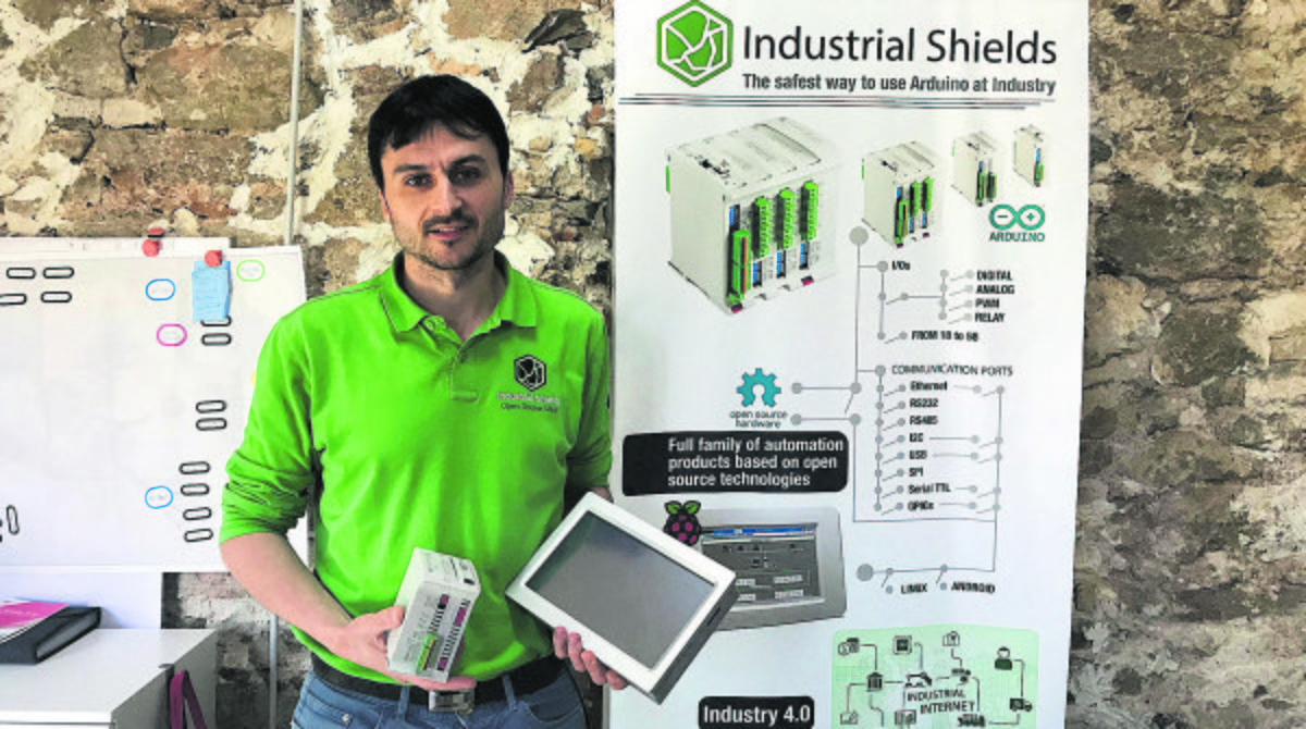Albert Prieto, CEO de Industrial Shields.