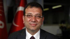 El alcalde electo de Estambul,Ekrem Imamoglu.