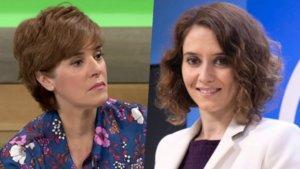 Anabel Alonso e Isabel Díaz Ayuso