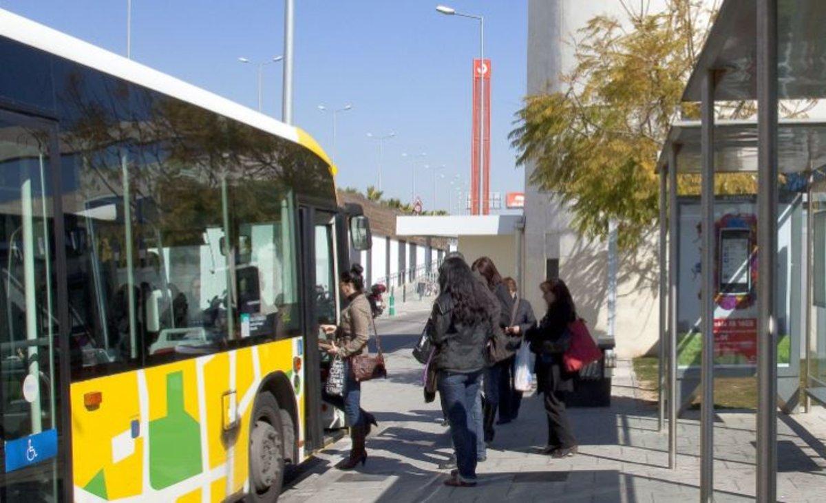 Autobús metropolitano.