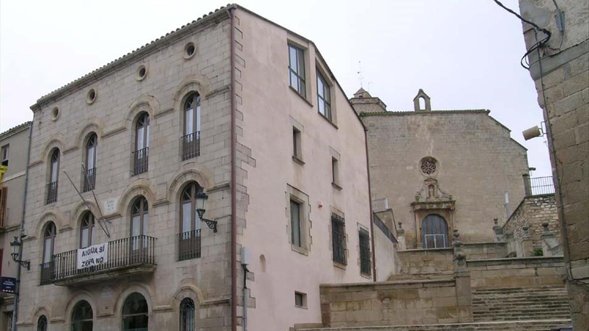Ayuntamiento de la localidad de Bellpuig