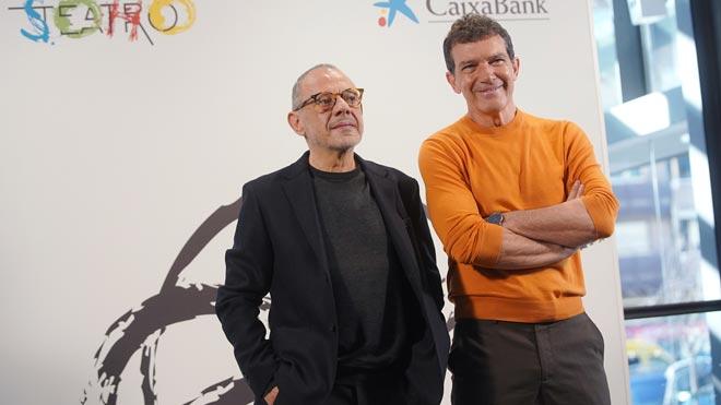 """Antonio Banderas i Lluís Pasqual: """"És difícil viure sent víctima de 'fake news'"""""""