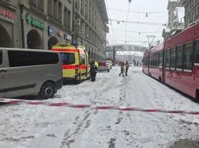 La plaça de l'Estació Central de Berna, evacuada per una alerta de bomba