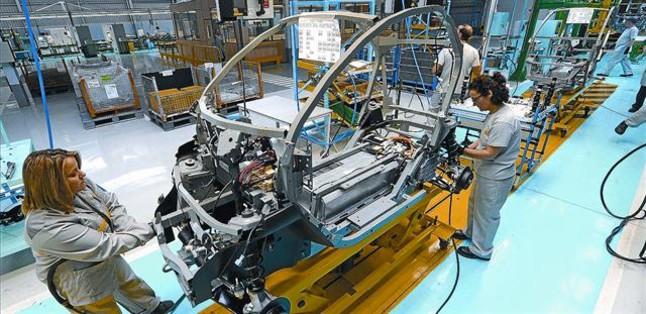 RENAULT VALLADOLID. Línea de montaje del modelo Twizy en la factoría de la capital de Castilla y León.
