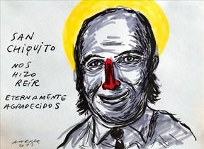 Dibujo de Chiquito de la Calzada, por Andreu Buenafuente.