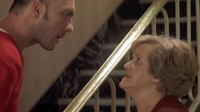 Secuencia protagonizada por Chus Lampreave en la película de Almodóvar Hable con ella, estrenada en el 2002.