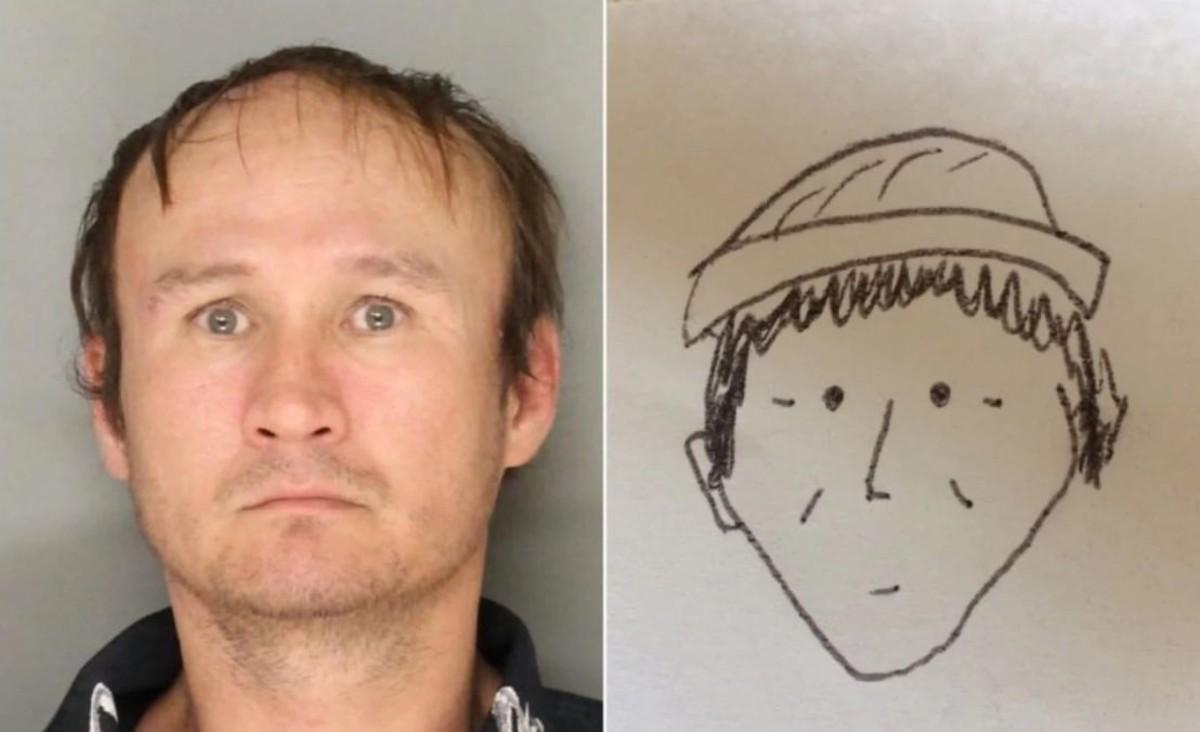 El terrible dibuix que va ajudar a identificar un lladre