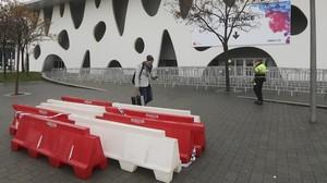 Bol·lards i barreres New Jersey per protegir el Mobile World Congress de Barcelona