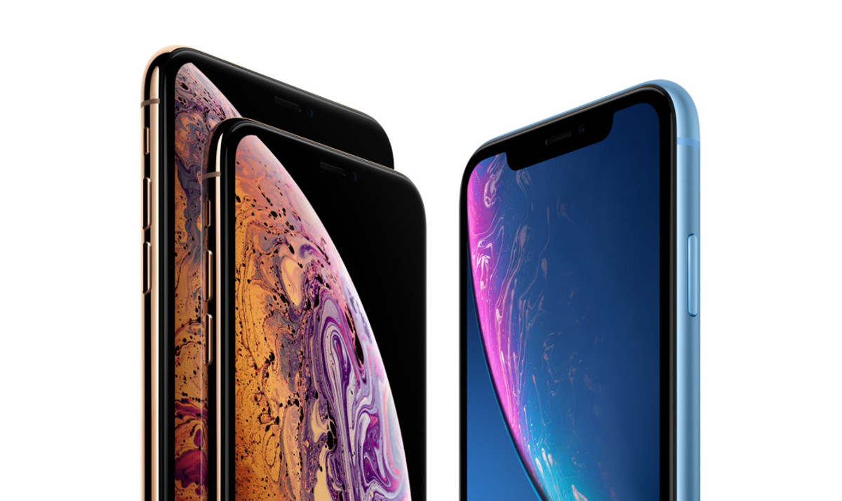 Comparativa de iPhone XS, iPhone XS Max y iPhone XR.