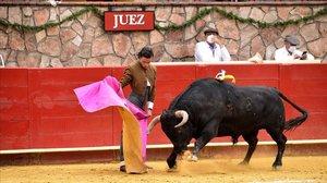 Corrida de toros en México.