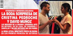 Cristina Pedroche y David Muñoz ya son marido y mujer.