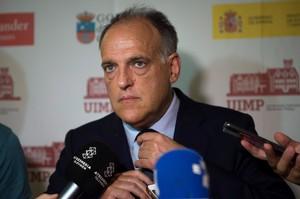 Javier Tebas,presidente de la Liga de Futbol Profesional.