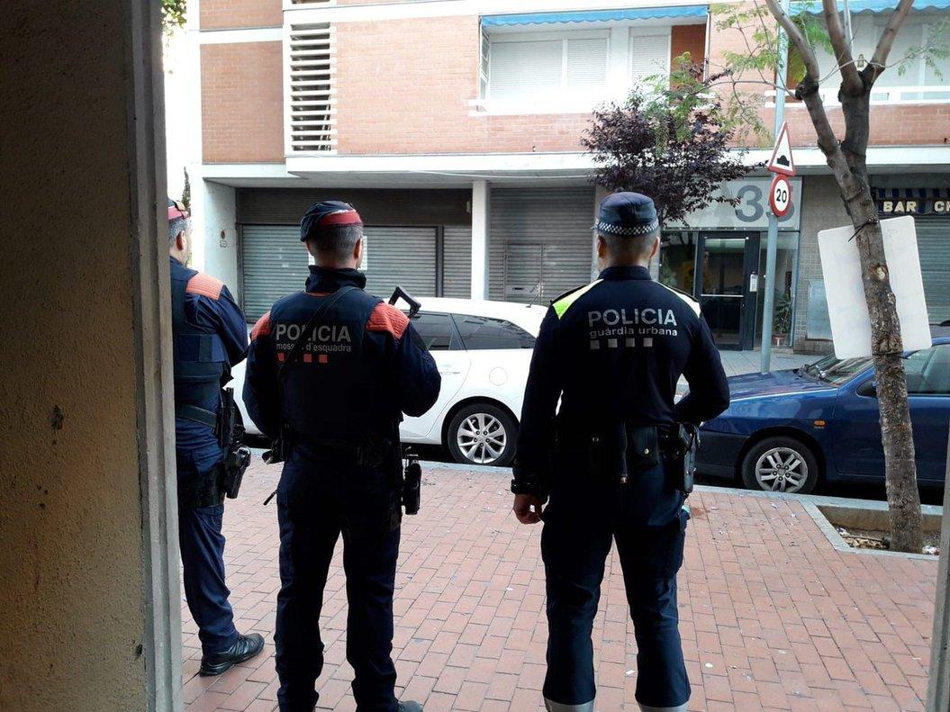 Operació policial contra el tràfic d'heroïna a Barcelona