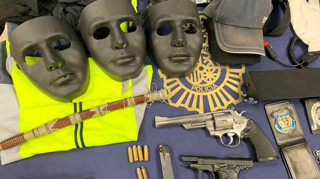 Desmantelado en Málaga un grupo criminal especializado en el robo de vehículos de gama alta.