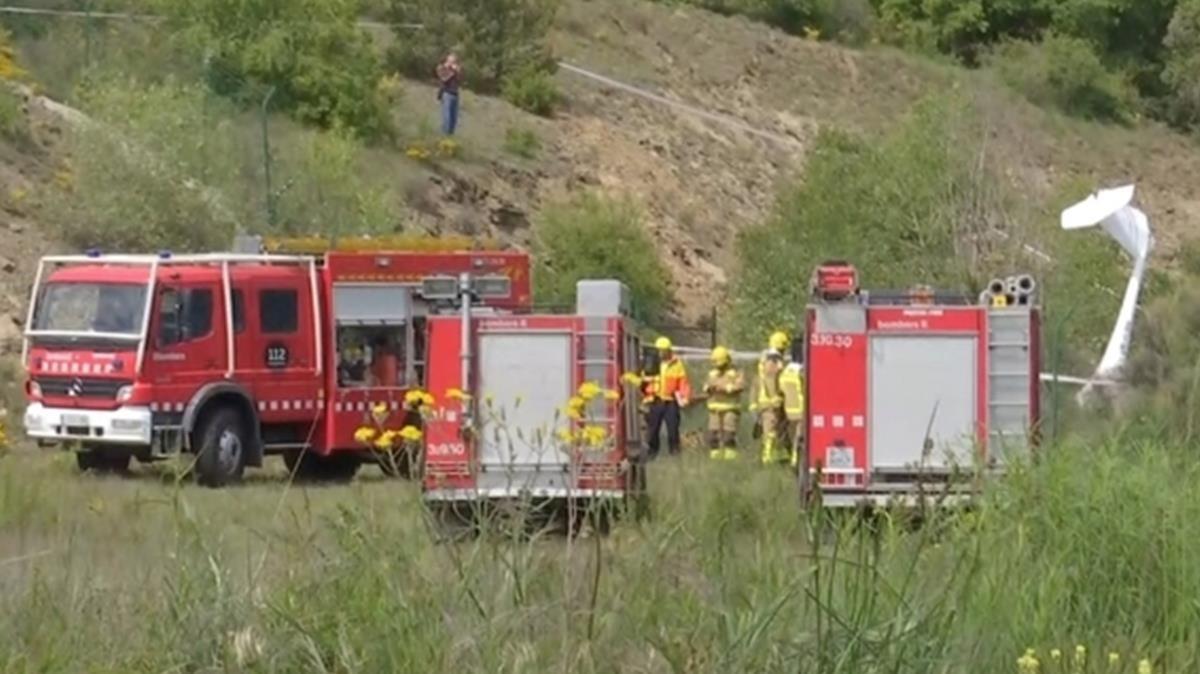 Dos muertos al estrellarse un ultraligero en el aeropuerto de la Seu dUrgell.