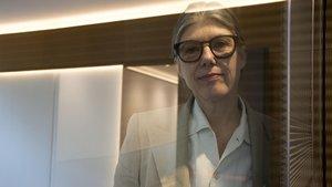 La editora de la revista Granta Sigrid Rausing, este viernes.