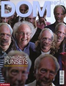 Eduard Punset, en la portada de Dominical.