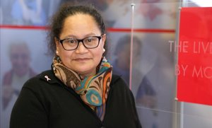 La enfermera neozelandesa de Cruz Roja, Louisa Akavi, secuestrada en Siria en 2013.