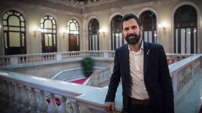 Entrevista con Roger Torrent, President del Parlament de Catalunya.