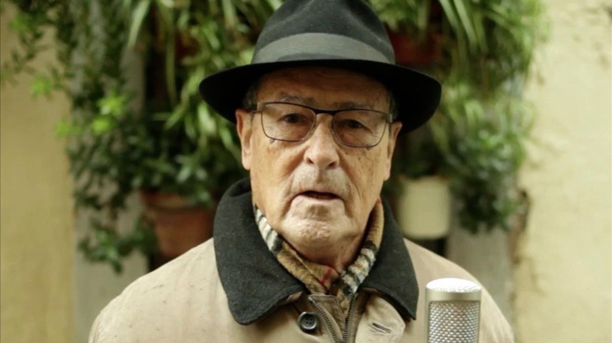El actor Ernest Serrahima, en una imagenreciente.
